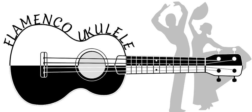 flamenco ukulele large logo